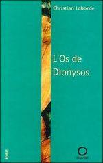 Couverture L'os de Dionysos