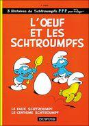 Couverture L'Oeuf et les Schtroumpfs - Les Schtroumpfs, tome 4