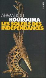 Couverture Les Soleils des indépendances