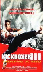 Affiche Kickboxer 3 : Trafic à Rio