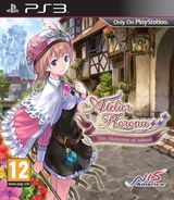 Jaquette Atelier Rorona : The Alchemist of Arland