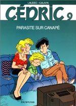 Couverture Parasite sur canapé - Cédric, tome 9