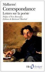 Couverture Correspondance - Lettres sur la poésie