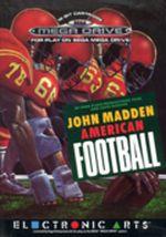 Jaquette John Madden American Football