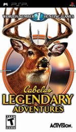 Jaquette Cabela's Legendary Adventures