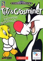 Jaquette Titi & Grosminet dans Une aventure infernale