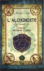Couverture L'alchimiste - Les secrets de l'alchimiste Nicolas Flamel, tome 1