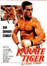 Affiche Karate Tiger : Le Tigre rouge