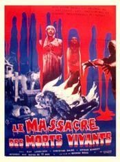 Affiche Le Massacre des morts-vivants