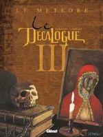 Couverture Le Météore - Le Décalogue, tome 3
