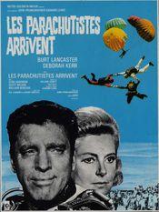 Affiche Les Parachutistes arrivent