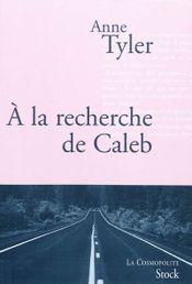 Couverture A la recherche de Caleb