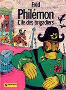 Couverture L'Île des brigadiers - Philémon, tome 6
