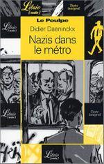 Couverture Nazis dans le métro - Le Poulpe, tome 7