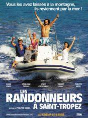 Affiche Les Randonneurs à Saint-Tropez