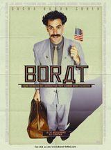 Affiche Borat, leçons culturelles sur l'Amérique au profit glorieuse nation Kazakhstan