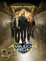Affiche Avalon High, un amour légendaire