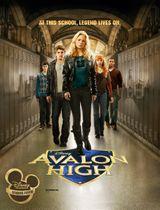 Affiche Avalon High, un amour légendaire