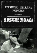 Affiche El desastre en Oaxaca