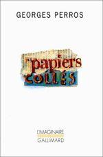 Couverture Papiers collés