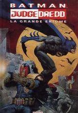 Couverture Batman/Judge Dredd : La Grande Énigme