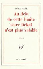 Couverture Au-delà de cette limite votre ticket n'est plus valable