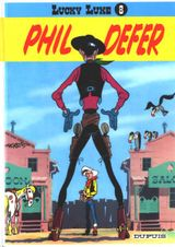 Couverture Phil Defer - Lucky Luke, tome 8
