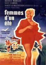 Affiche Femmes d'un été