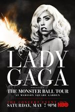 Affiche Lady Gaga Presents : The Monster Ball Tour at Madison Square Garden