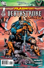 Couverture Flashpoint: Deathstroke and the Curse of the Ravager