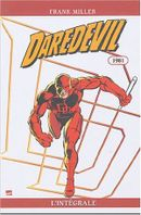 Couverture 1981 - Daredevil : L'Intégrale, tome 1