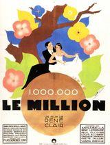Affiche Le Million