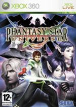 Jaquette Phantasy Star Universe