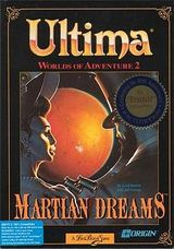 Jaquette Worlds of Ultima : Martian Dreams