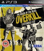 Jaquette The House of the Dead : Overkill Extended Cut