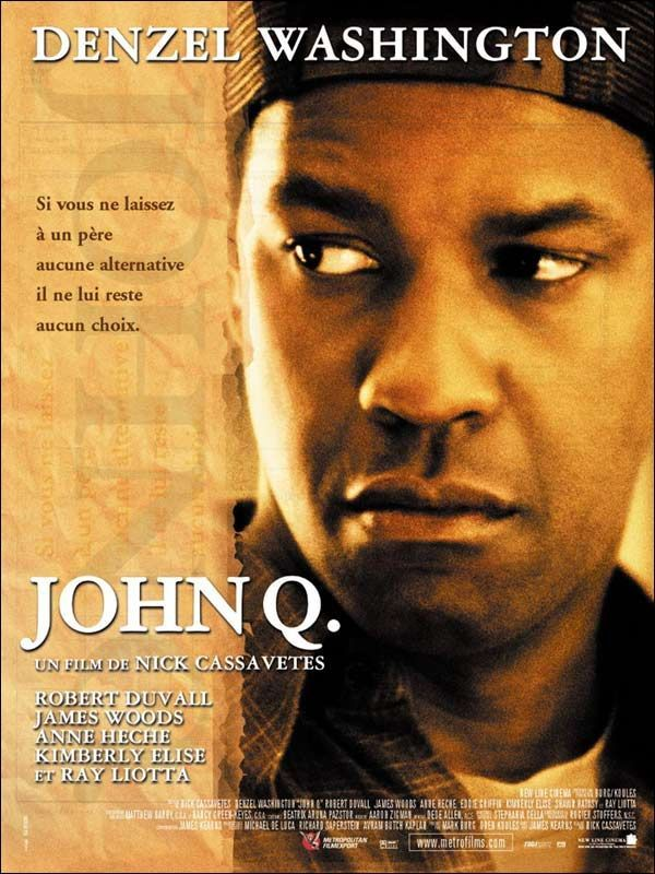 essay john q movie John q essayjohn q is an emotionally-packed movie that surrounds the unfortunate medical circumstances of john, played by.