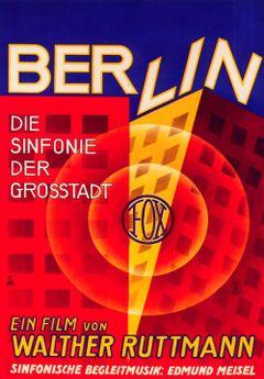 Affiche Berlin, symphonie d'une grande ville