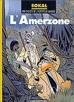 Couverture L'Amerzone - L'Inspecteur Canardo, tome 5