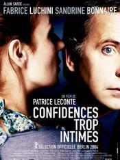 Affiche Confidences trop intimes