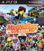 Jaquette ModNation Racers