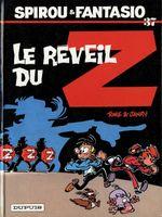 Couverture Le Réveil du Z - Spirou et Fantasio, tome 37