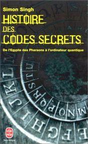 Couverture Histoire des codes secrets