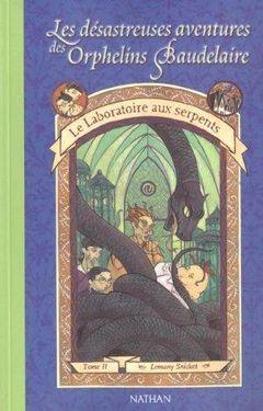 Couverture Le Laboratoire des serpents - Les Désastreuses Aventures des orphelins Baudelaire, tome 2