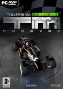 Jaquette TrackMania Nations Forever