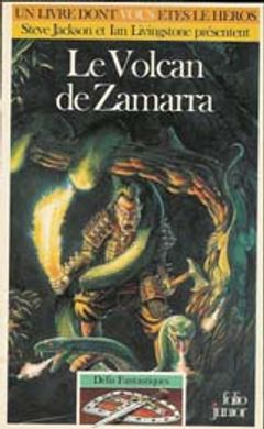 Couverture Le Volcan de Zamarra - Défis fantastiques, tome 39