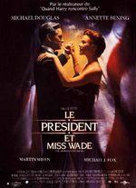 Affiche Le Président et miss Wade