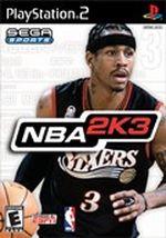 Jaquette NBA 2K3