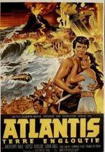 Affiche Atlantis, terre engloutie