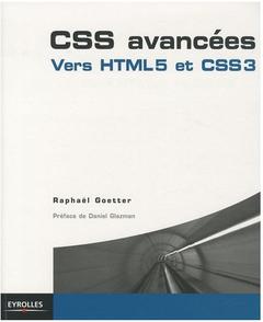 Couverture CSS avancées: Vers HTML5 et CSS3