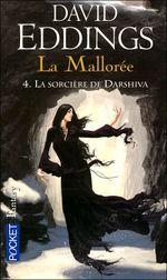 Couverture La Sorcière de Darshiva - La Mallorée, tome 4